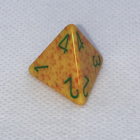 D4 Aqua et Argent (Cirrus/Chessex)