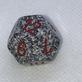 D4 Ivoire et Noir (Marble/Chessex)