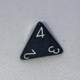 D4 Bronze et Blanc (Lustrous/Chessex)