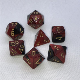 D4 Scarlet et Or (Scarab/Chessex)