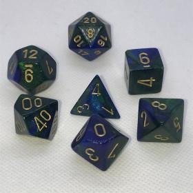 D4 Sang bleu et Or (Scarab/Chessex)