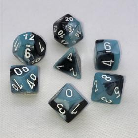 D10 dizaine Jade et Or (Scarab/Chessex)
