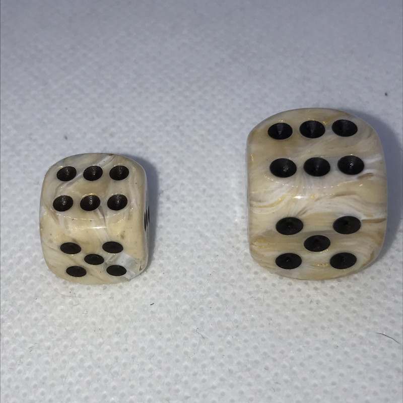 D6 ROUGE (MARBLE/DGD)