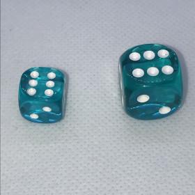 Double D12 ROUGE et BLANC (Spéciaux/Chessex)