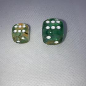 Double D20 ROUGE et BLANC (Spéciaux/Chessex)