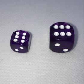 Double D6 19mn BLEU et Blanc (Spéciaux/Koplow)