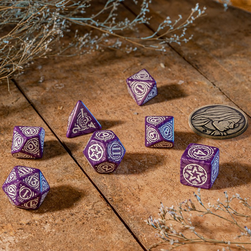 D12 Rose et Or  (Vortex/Chessex)