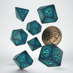 D10 Sarcelle et Or (Vortex/Chessex)