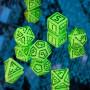 D8 Jaune et Bleu  (Vortex/Chessex)