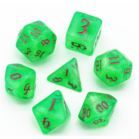 Toxic Acid DGD Mini Sets 7 Dés