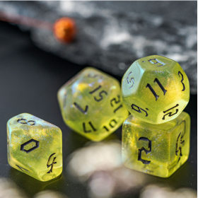 D6 Noir et Blanc  Elven (Elven/Q-workshop)