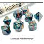 Dés Signature - Lustrous - Alpestris - Orange - Chessex