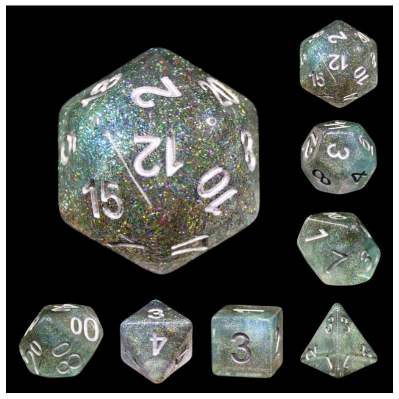 D12 BLANC VIERGE (Opaque/Chessex)