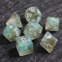 D20 BLANC VIERGE (Opaque/Chessex)