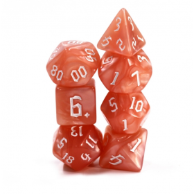D20 IVOIRE VIERGE (Opaque/Chessex)