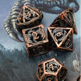 D10 Orange Dead Lands Dice set (Deadlands/Q-workshop)
