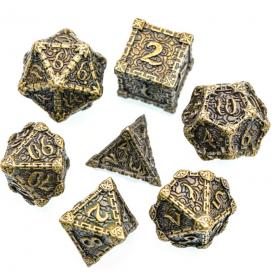 Dés Géant D20 34mn GOLDEN RECON (Speckled/Chessex)