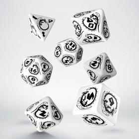 D4 BLEU/ACIER et BLANC (Gemini/Chessex)