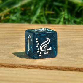 D4 SILVER VOLCANO (Speckled/Chessex)