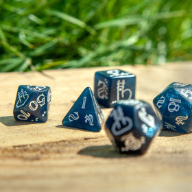 D4 BLUE STARS (Speckled/Chessex)