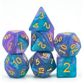 D4 BLEU/ROUGE et OR (Gemini/Chessex)