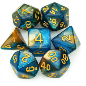 D12 BLEU/ROUGE et OR (Gemini/Chessex)