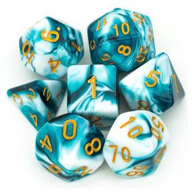 D4 NOIR/CUIVRE et BLANC (Gemini/Chessex)