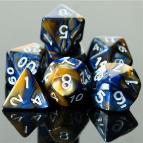 D4 NOIR/POURPRE et OR (Gemini/Chessex)