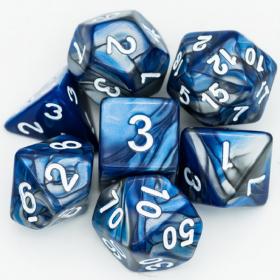D8 NOIR/POURPRE et OR (Gemini/Chessex)