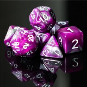 D12 NOIR/POURPRE et OR (Gemini/Chessex)