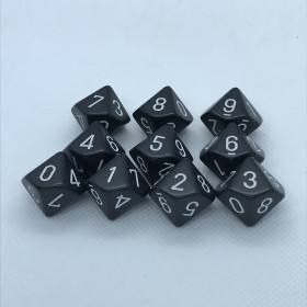 D10 dizaine Cobalt (Speckled/Chessex)