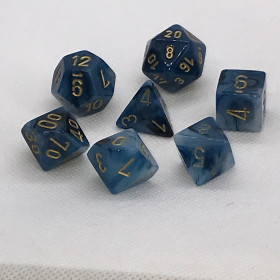D6 BLANC VIERGE (Opaque/Chessex)
