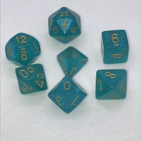 D4 Bleu caraibes et Blanc (Borealis/Chessex)